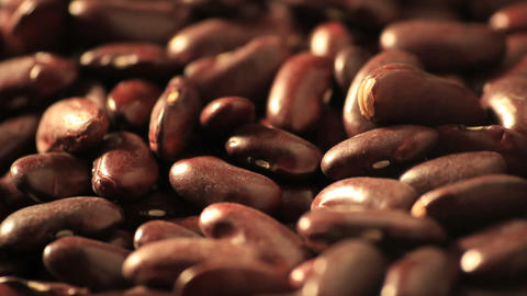 Red beans - DOLLY Stock Video Footage