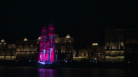 The sailing ship with the crimson sails Live Action