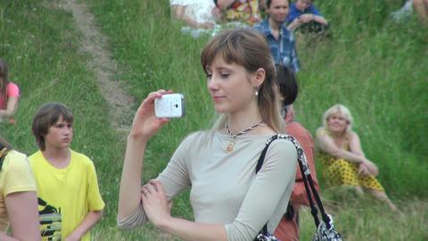 Photographer girl Footage