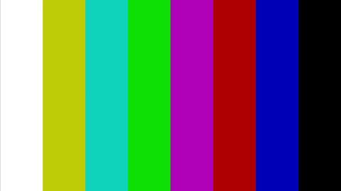 Color bar generator Footage
