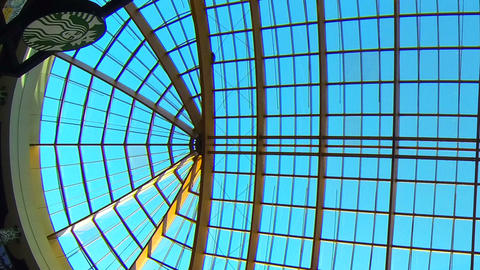 Glass ceiling Stock Video Footage