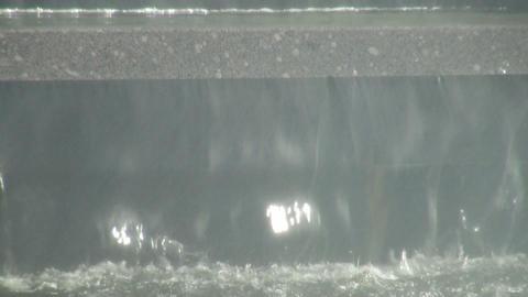 Fountain, waterfall Stock Video Footage