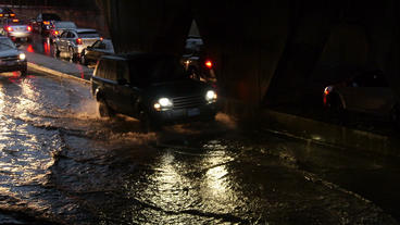 Toronto Storm Flooding 6 Stock Video Footage