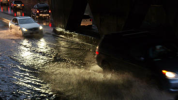 Toronto Storm Flooding 6 Footage