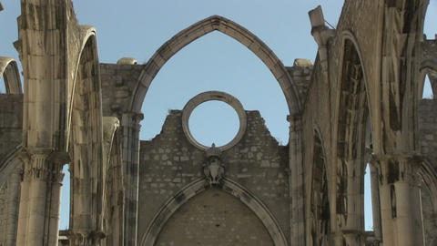 Carmo Church Stock Video Footage