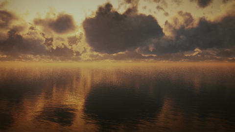 (1296) Ocean Storm Timelapse Clouds Dreamscape Tra Animation