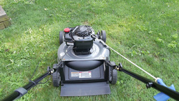 Lawn Mower Footage