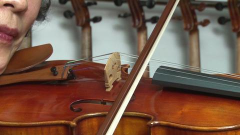 violin Stock Video Footage