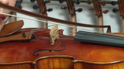 Violin stock footage