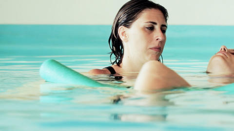 Water Healing Hydrotherapy wellbeing therapist dol Stock Video Footage