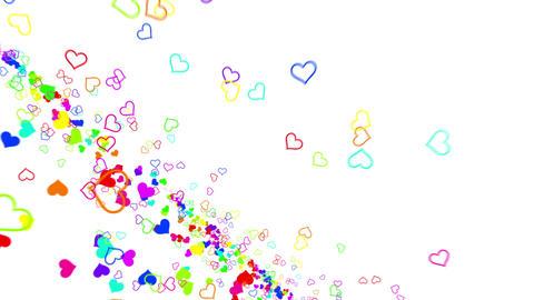Heart G 6 Cd HD Stock Video Footage