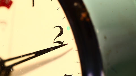 Old clock Stock Video Footage
