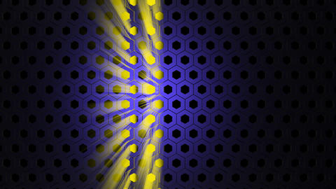 Abstract mesh through which the light beam Stock Video Footage