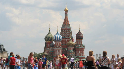 Saint Basil Cathedral Stock Video Footage