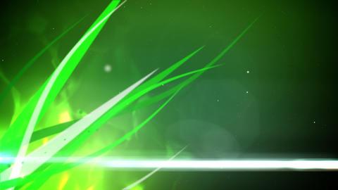 Glowing grass loop Stock Video Footage