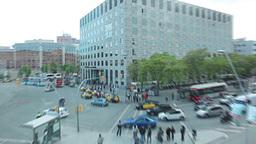 Traffic in Barcelona Stock Video Footage