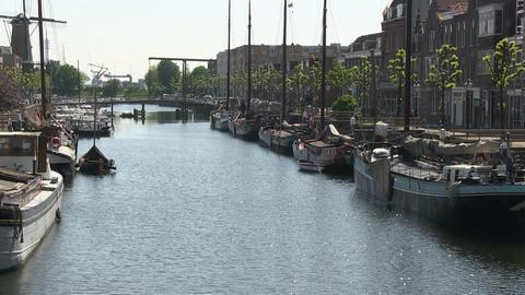 Delfshaven, Rotterdam Footage