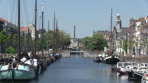 Delftshaven, Rotterdam Stock Video Footage