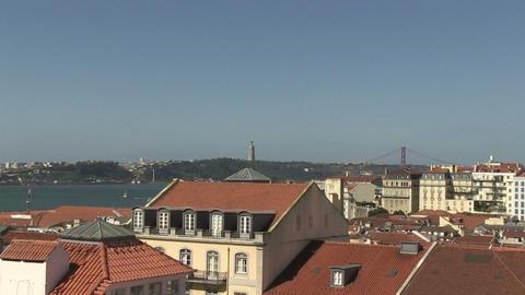 Cristo-Rei in Lisbon Footage