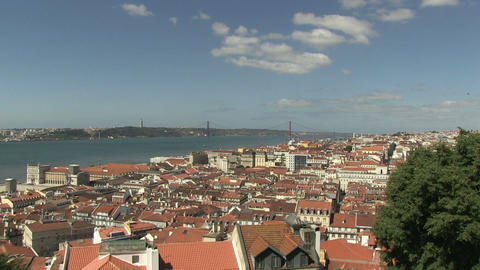 Lisbon, Portugal Stock Video Footage