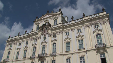 Sheraton Charles Square Hotel, Prague Stock Video Footage
