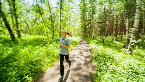 Jogging Footage