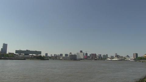 Rotterdam, The Netherlands Stock Video Footage