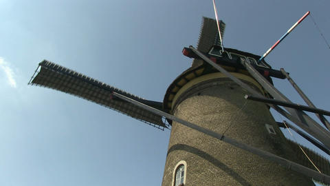 Dutch windmill Stock Video Footage
