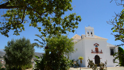 Typical Andalusian chapel, pan ビデオ
