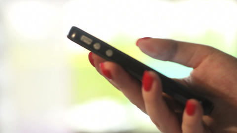 Smartphone - DOLLY Stock Video Footage