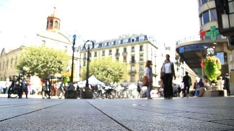 Pedestrians Stock Video Footage