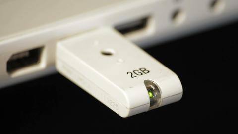 USB stick Stock Video Footage