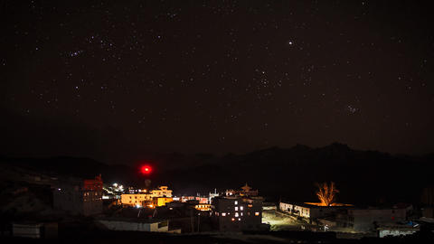 Star Sky Time Lapse Stock Video Footage