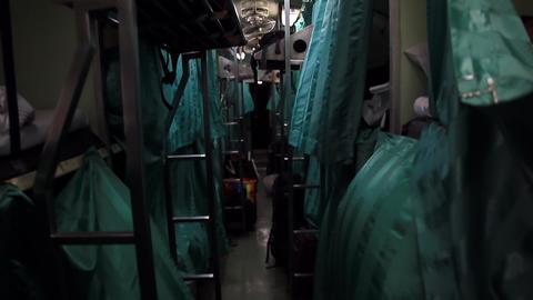 Night train Stock Video Footage