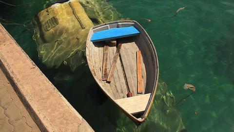 Sunken boat Footage