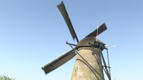 Dutch windmill Footage