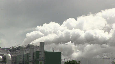 Industrial Smoke Stock Video Footage