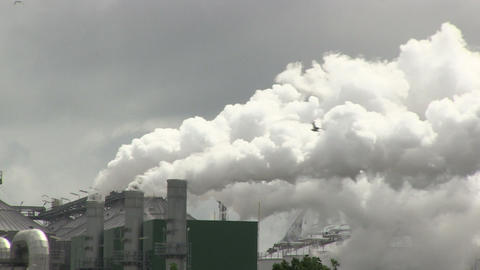 Industrial Smoke Stock Video Footage
