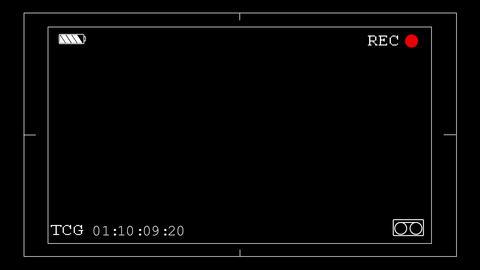 Camera viewfinder v 4 Stock Video Footage