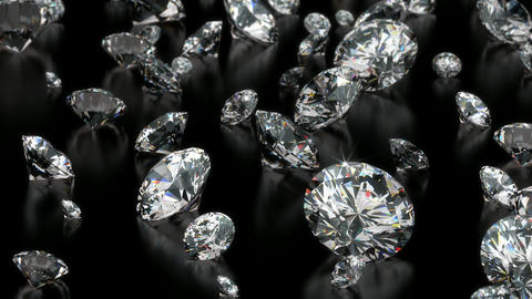 Diamonds Stock Video Footage