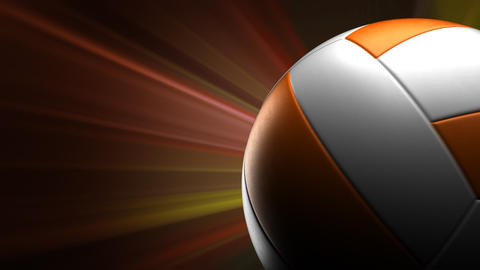Volleyball Background Stock Video Footage