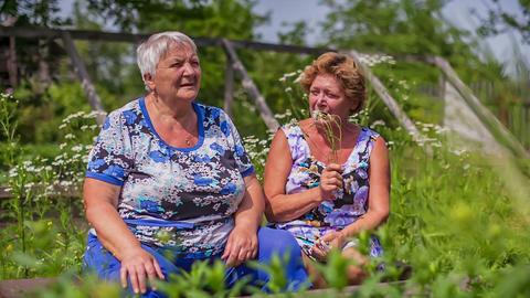 Older women Stock Video Footage