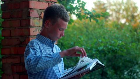 Boy learns 6 Footage