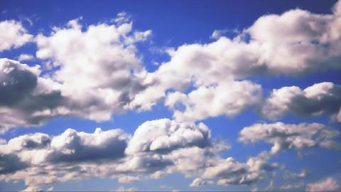 Australia cloudy sky Animation