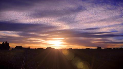 Australia sunset Stock Video Footage