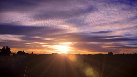 Australia sunset Animation