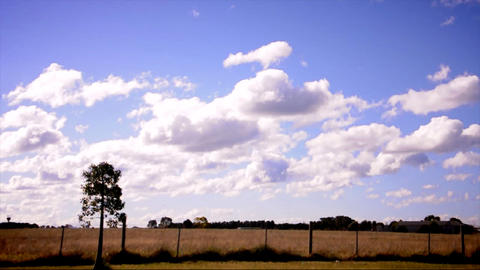 Victoria country side in Australia Stock Video Footage
