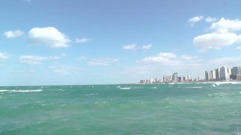 Beaches of Tel-Aviv , Israel Footage