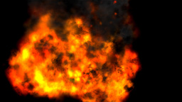 Flash, Outbreak, Burst, Flames, Fire Stock Video Footage