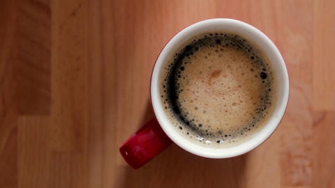 Coffee Cup Stock Video Footage